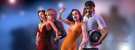 Sims Night Life Disco, Free Facebook Timeline Profile Cover, Characters