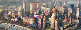 Sims SimCity Towers, Free Facebook Timeline Profile Cover, Characters