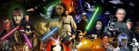 Star Wars Characters, Free Facebook Timeline Profile Cover, Characters
