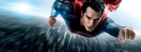 Superman Flying, Free Facebook Timeline Profile Cover, Characters