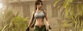 Tomb Raider Lara Croft Action, Free Facebook Timeline Profile Cover, Characters