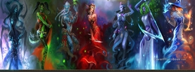 World of Warcraft Ladies, Free Facebook Timeline Profile Cover, Characters