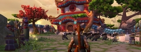 World of Warcraft Mists of Pandaria, Free Facebook Timeline Profile Cover, Characters