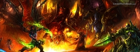 World of Warcraft The Burning Crusade Conflict, Free Facebook Timeline Profile Cover, Characters