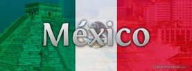 Mexico Flag, Free Facebook Timeline Profile Cover, Countries