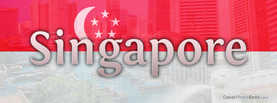 Singapore Flag, Free Facebook Timeline Profile Cover, Countries