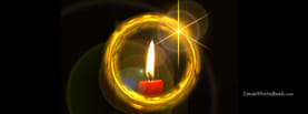 Candle Circle Flares, Free Facebook Timeline Profile Cover, Creative