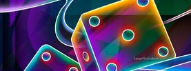 Colorful Dices, Free Facebook Timeline Profile Cover, Creative