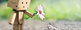 Cute Danbo And Frog Friendship, Free Facebook Timeline Profile Cover, Creative