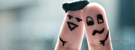 Drunk Fingers Friendship, Free Facebook Timeline Profile Cover, Creative