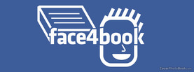 Face4book, Free Facebook Timeline Profile Cover, Creative