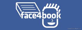 Face4book, Free Facebook Timeline Profile Cover, Creative