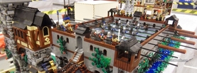 Lego Table Football, Free Facebook Timeline Profile Cover, Creative