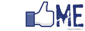 Like Me, Free Facebook Timeline Profile Cover, Creative