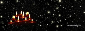 Lots of Candles and Stars, Free Facebook Timeline Profile Cover, Creative