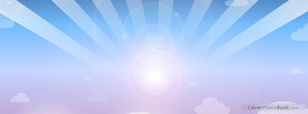 Sun Clouds Sky Vector, Free Facebook Timeline Profile Cover, Creative