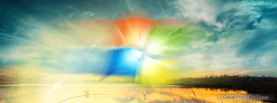 Windows7 Lake, Free Facebook Timeline Profile Cover, Creative