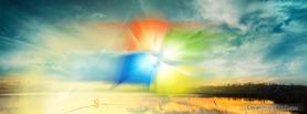Windows7 Lake, Free Facebook Timeline Profile Cover, Creative