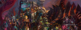 World of Warcraft Fan Art, Free Facebook Timeline Profile Cover, Creative