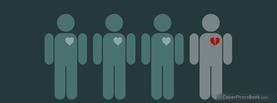 Broken Heart, Free Facebook Timeline Profile Cover, Emotions