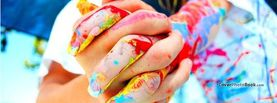 Colorful Hands Shake, Free Facebook Timeline Profile Cover, Emotions