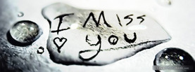 I Miss you, Free Facebook Timeline Profile Cover, Emotions