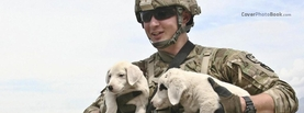 Military and Dogs, Free Facebook Timeline Profile Cover, Emotions