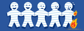 Paper People, Free Facebook Timeline Profile Cover, Emotions