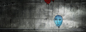 Sad Balloon Painting, Free Facebook Timeline Profile Cover, Emotions