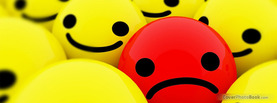 Sad Red, Free Facebook Timeline Profile Cover, Emotions