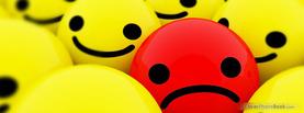 Sad Red, Free Facebook Timeline Profile Cover, Emotions