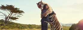 Tiger and Guy Friendship, Free Facebook Timeline Profile Cover, Emotions