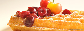 Cherry Sugar Waffles, Free Facebook Timeline Profile Cover, Foods
