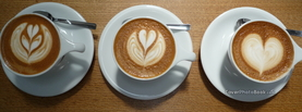 Coffee Art, Free Facebook Timeline Profile Cover, Foods