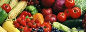 Fresh Fruits and Vegetables, Free Facebook Timeline Profile Cover, Foods