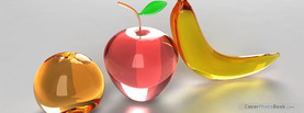 Glass Fruits, Free Facebook Timeline Profile Cover, Foods