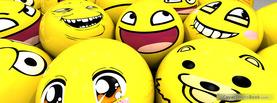 Meme Smileys, Free Facebook Timeline Profile Cover, Funny