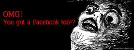 OMG You Got Facebook Too, Free Facebook Timeline Profile Cover, Funny