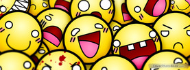 Thousand Smileys, Free Facebook Timeline Profile Cover, Funny