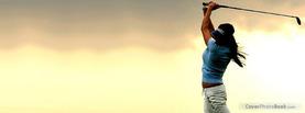 Female Golfer Sport, Free Facebook Timeline Profile Cover, Hobbies