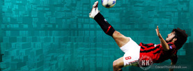 Football Volley Kick, Free Facebook Timeline Profile Cover, Hobbies
