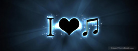 I Love Music, Free Facebook Timeline Profile Cover, Hobbies