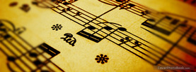 Music Notes, Free Facebook Timeline Profile Cover, Hobbies