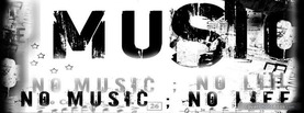 No Music No Life, Free Facebook Timeline Profile Cover, Hobbies