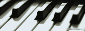 Piano Keys, Free Facebook Timeline Profile Cover, Hobbies