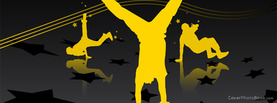 Streetdance Yellow Vector, Free Facebook Timeline Profile Cover, Hobbies