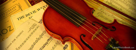 Violin Music Manuscripts, Free Facebook Timeline Profile Cover, Hobbies