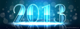 2013 Glossy Light Circles, Free Facebook Timeline Profile Cover, Holidays