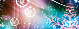 Beautiful Retro Christmas Colors, Free Facebook Timeline Profile Cover, Holidays