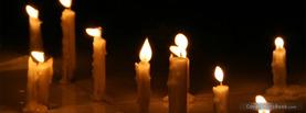 Candle Lights Dark, Free Facebook Timeline Profile Cover, Holidays